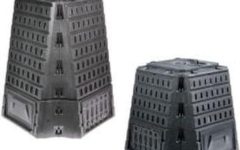 BIOCOMPO Kompostér 500 L černý černý