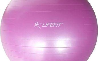 LIFEFIT Gymnastický míč ANTI-BURST 55 cm, růžový