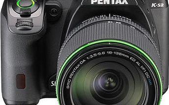 Pentax K-S2, černá + DA 18-135WR - 11587
