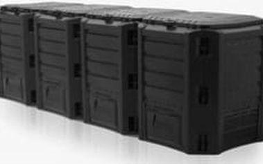 COMPOGREEN Kompostér 1600 L (4x400l)