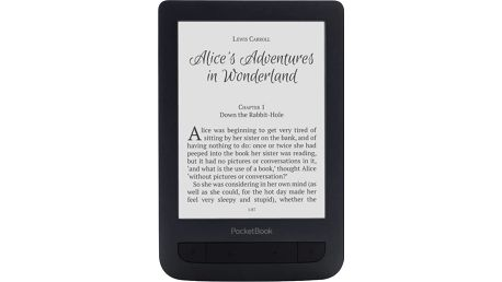 PocketBook 625 Basic Touch 2, černá - EBKPK1563