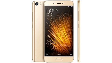 Mobilní telefon Xiaomi Mi5 64 GB (472430) zlatý Software F-Secure SAFE 6 měsíců pro 3 zařízení (zdarma) + Doprava zdarma