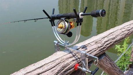 Nastavitelný rybářský stojan na pruty