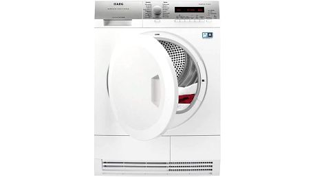 Sušička prádla AEG Lavatherm T75781IHCS bílá + Doprava zdarma