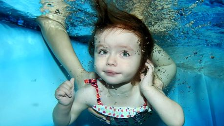 11 lekcí zimního plavání pro děti