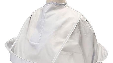 Kadeřnický plášť se zachytáváním vlasů