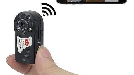 Mini skrytá kamera s podporou WiFi