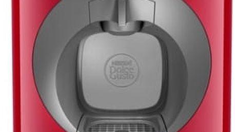 Espresso Krups NESCAFÉ® Dolce Gusto™ Oblo KP110531 červené + dárek