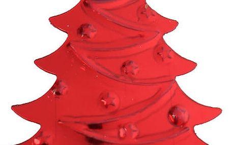 Červené vánoční stromečky k dekorování