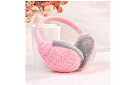 Pletené klapky na uši - 4 barvy