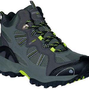 Dětská turistická obuv Regatta RKF253 CROSSLAND MID Iron/CitronG