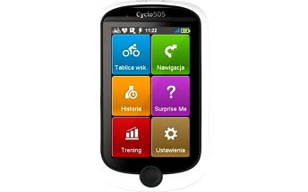 Navigační systém GPS Mio Mio Cyclo 505 HC černá/bílá + Doprava zdarma