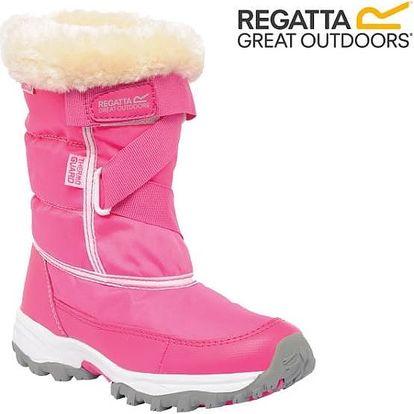 Dívčí zimní sněhule Regatta RKF389 SNOWCADET II Jem/White