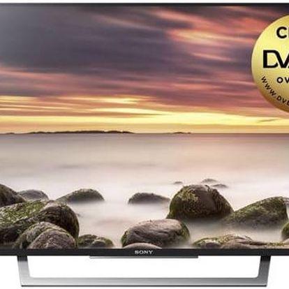 Televize Sony KDL49WD759BAEP černá + Doprava zdarma