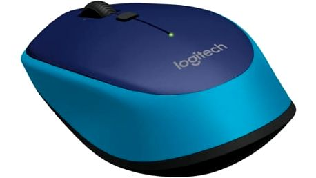 Myš Logitech M335 (910-004546) modrá / optická / 4 tlačítka / 1000dpi