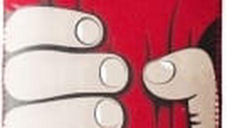 RedPoint Velvet univerzální pouzdro velikosti 3XL motiv Red Hand (142x73x8,1mm)