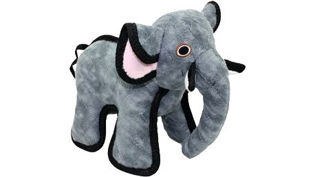 Hračka Tuffy Slon textilní šedá