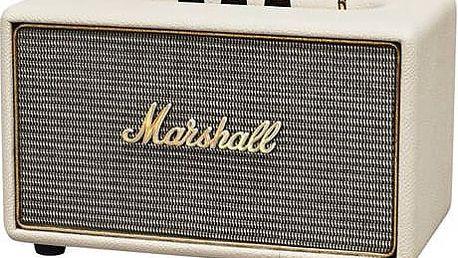 Přenosný reproduktor Marshall Acton Bluetooth krémový + Doprava zdarma
