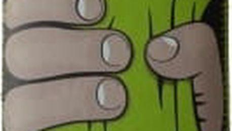 RedPoint Velvet univerzální pouzdro velikosti 5XL motiv Green Hand (147x83x9,7mm)