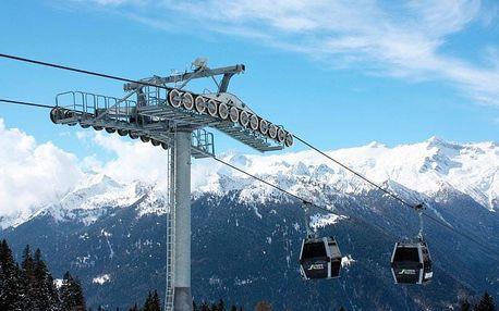 Itálie, Pinzolo: 5denní lyžařský zájezd pro 1 osobu - 2 noci, skipas, polopenze, wellness