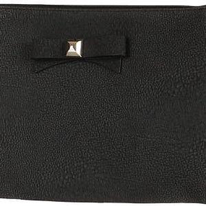 Větší psaníčko/malá kabelka s mašlí černá