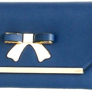 Luxusní psaníčko s mašlí modrá
