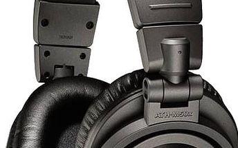 Audio-Technica ATH-M50x, matně šedá - ATH-M50xMG