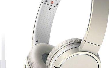 Sony sluchátka MDR-ZX660AP, champagne - MDRZX660APC.CE7