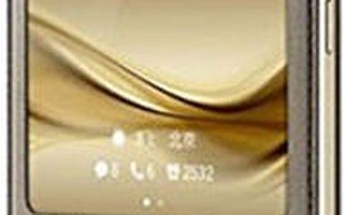 Huawei Original S-View Pouzdro pro Mate 8, hnědá (EU Blister) - 51991402