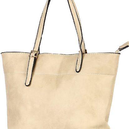 Dámská mini kabelka do ruky béžová