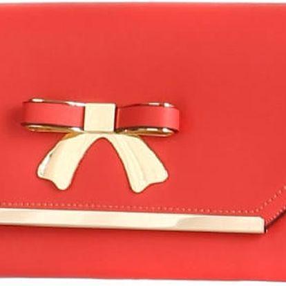 Luxusní psaníčko s mašlí červená