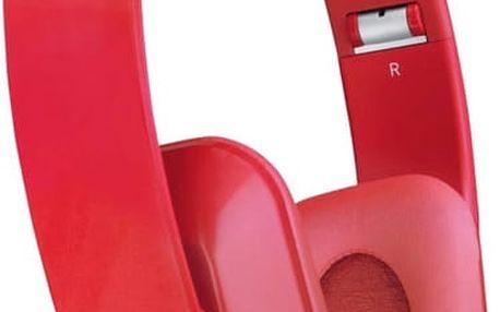 Nokia stereofonní headset WH-930, červená - 02734J4