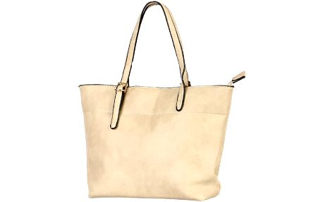 Malá elegantní kabelka do ruky béžová