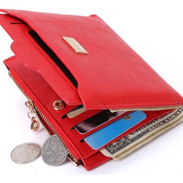 Dámská peněženka s přihrádkou na mince - 4 barvy