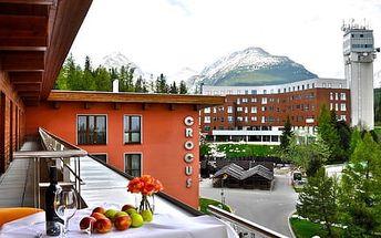 Jarní rodinný pobyt s dětským All Inclusive v hotelu Crocus **** na Štrbském Plese, 2 děti do 12 let v ceně