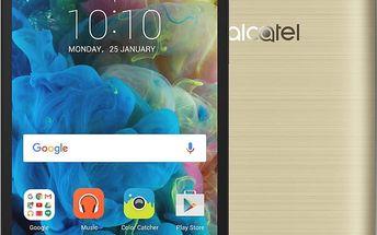 ALCATEL OT-5095K POP 4s, zlatá - 5095K-2GALE11