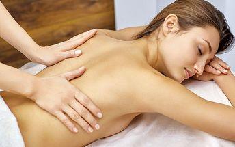 45 nebo 90 minut klasické uvolňující masáže zad a šíje