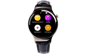 Chytré hodinky CUBE 1 S3 (NEHOCUS3XX050) černé