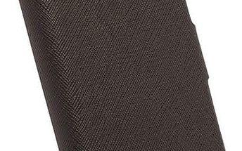 Krusell polohovací pouzdro MALMÖ FlipWallet pro Apple iPhone 6, černá - 75898