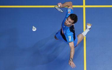 Badminton s Petrem Koukalem