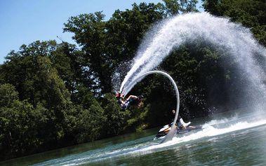 Flyboarding v Královehradeckém kraji
