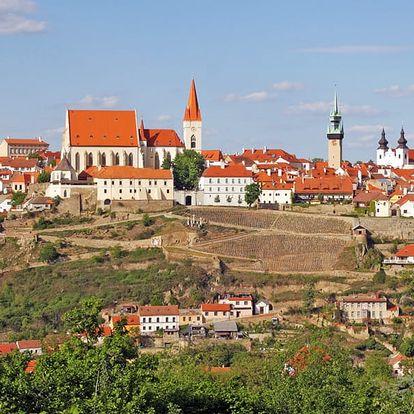Vinařská dovolená na jižní Moravě pro DVA s polopenzí i neomezenou konzumací vína