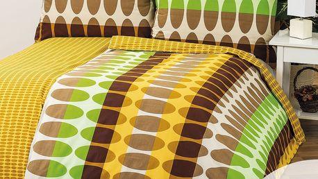 1+1 Povlečení Afrika, 140 x 200 cm, 70 x 90 cm