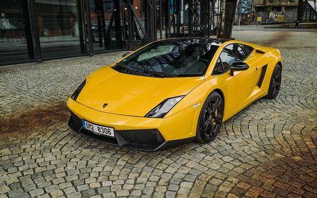 Jízda v Lamborghini Gallardo ve Středočeském kraji