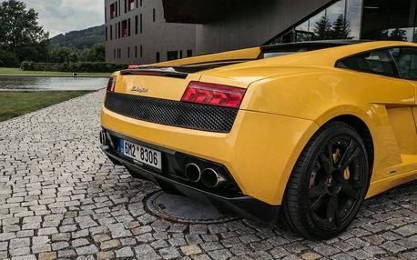 Nadupanáááá jízda v supersportu Lamborghini Gallardo