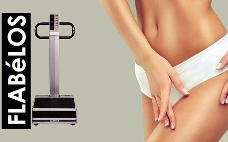 61% sleva na efektivní cvičení na vibrační plošině Flabelos v Salonu Galapa s neomezenou permanentkou na 30 dní