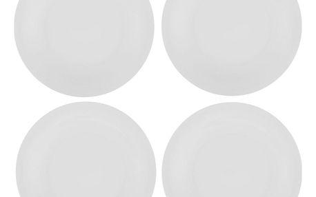 Sada 4 porcelánových talířů Sola Chic Lunasol, 27cm - doprava zdarma!