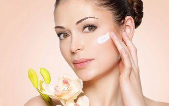 Nabité omlazující ošetření s masáží obličeje