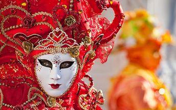 Karnevalový rej v Benátkách včetně ubytování