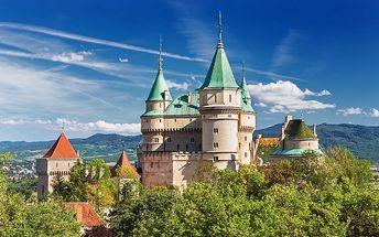 3 nebo 6denní pobyt pro 2 s wellness a polopenzí v hotelu Regia v Bojnicích